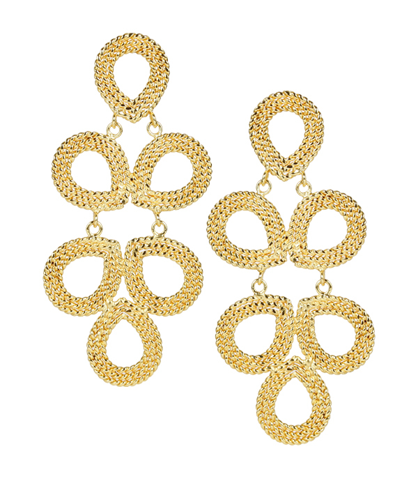 Ginger Gold Earrings by LISI LERCH