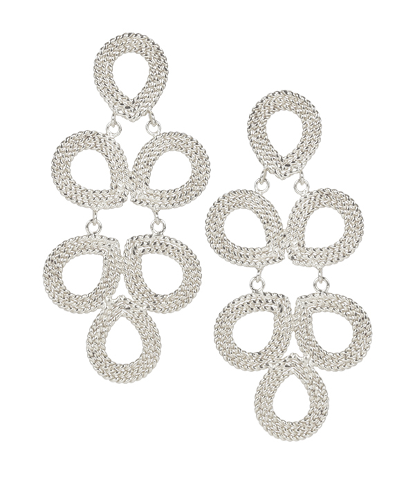 Ginger Silver Earrings by LISI LERCH