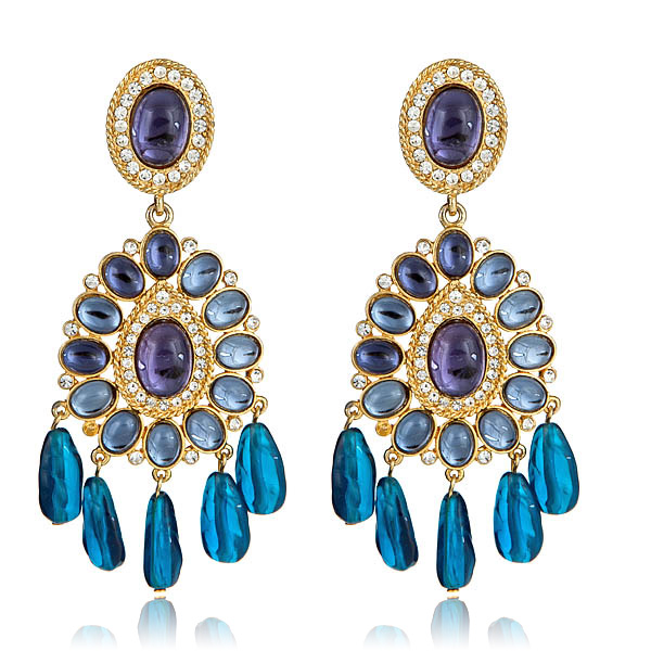 Glamourous Globetrotter Earring by KENNETH JAY LANE