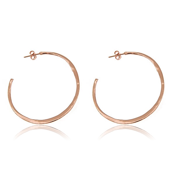 Gorjana Arc Hoop Earrings by GORJANA