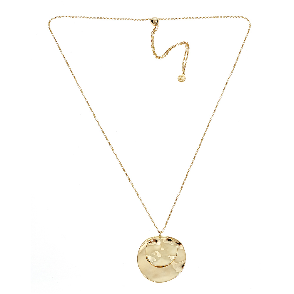 Chloe Double Pendant Necklace by GORJANA