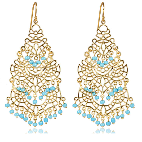 Turquoise Sky Earrings by LISI LERCH