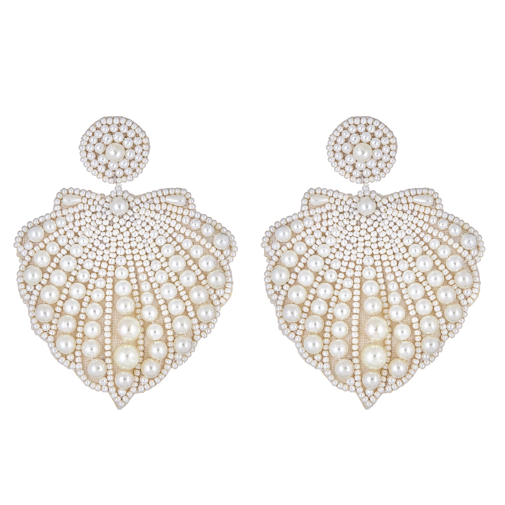 Hamptons Shell Earrings by FRENCH AND FORD