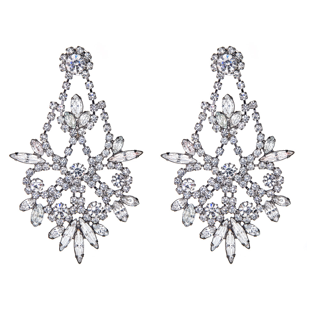 Indira Crystal Earrings by ELIZABETH COLE