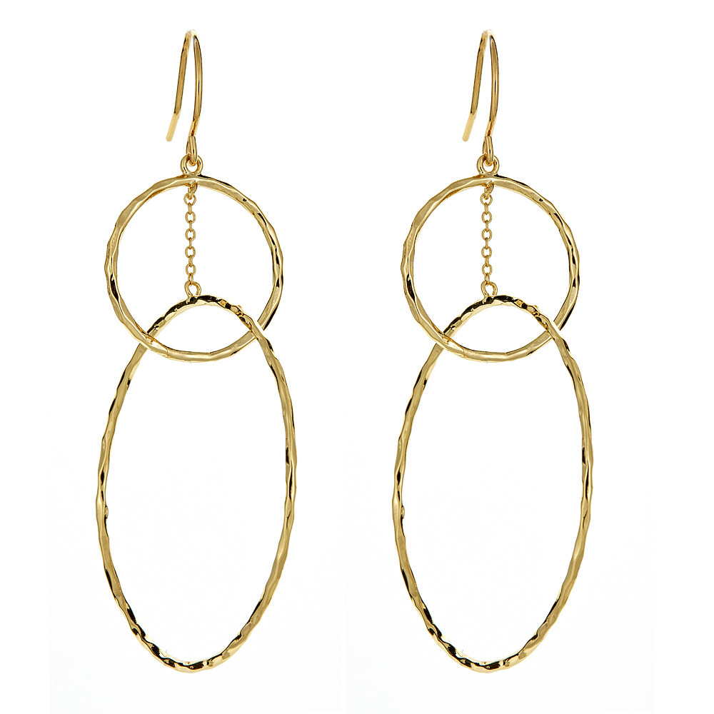 Interlocking Circle Earrings by GORJANA