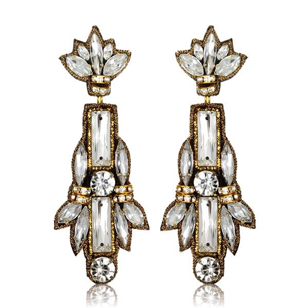 Petra Earrings by SUZANNA DAI