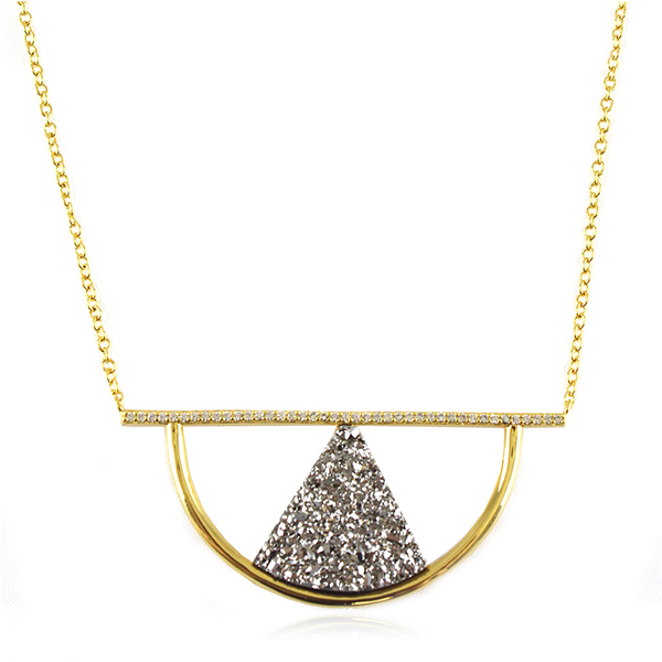 Pablo Druzy Necklace by MARCIA MORAN
