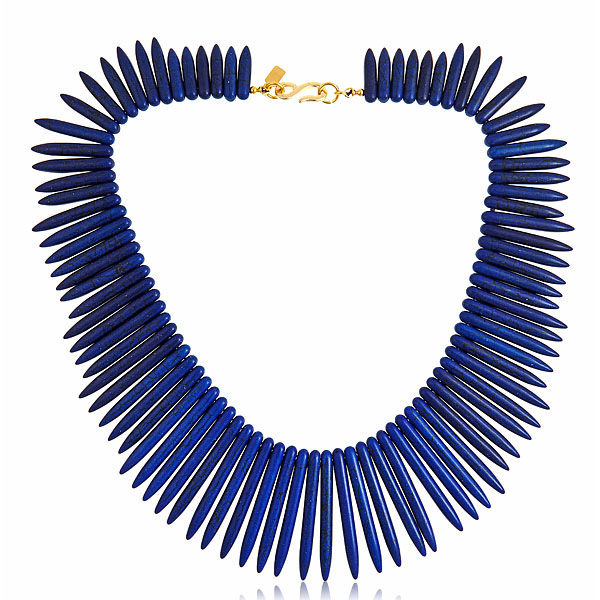 Lapis Sticks Necklace by KENNETH JAY LANE