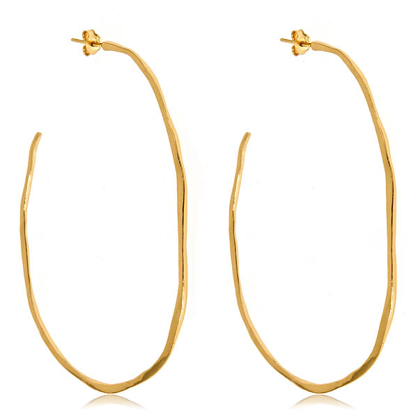 Laurel Hoops by GORJANA