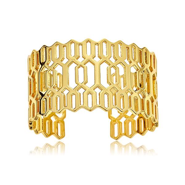 Layla Gold Cuff Bracelet