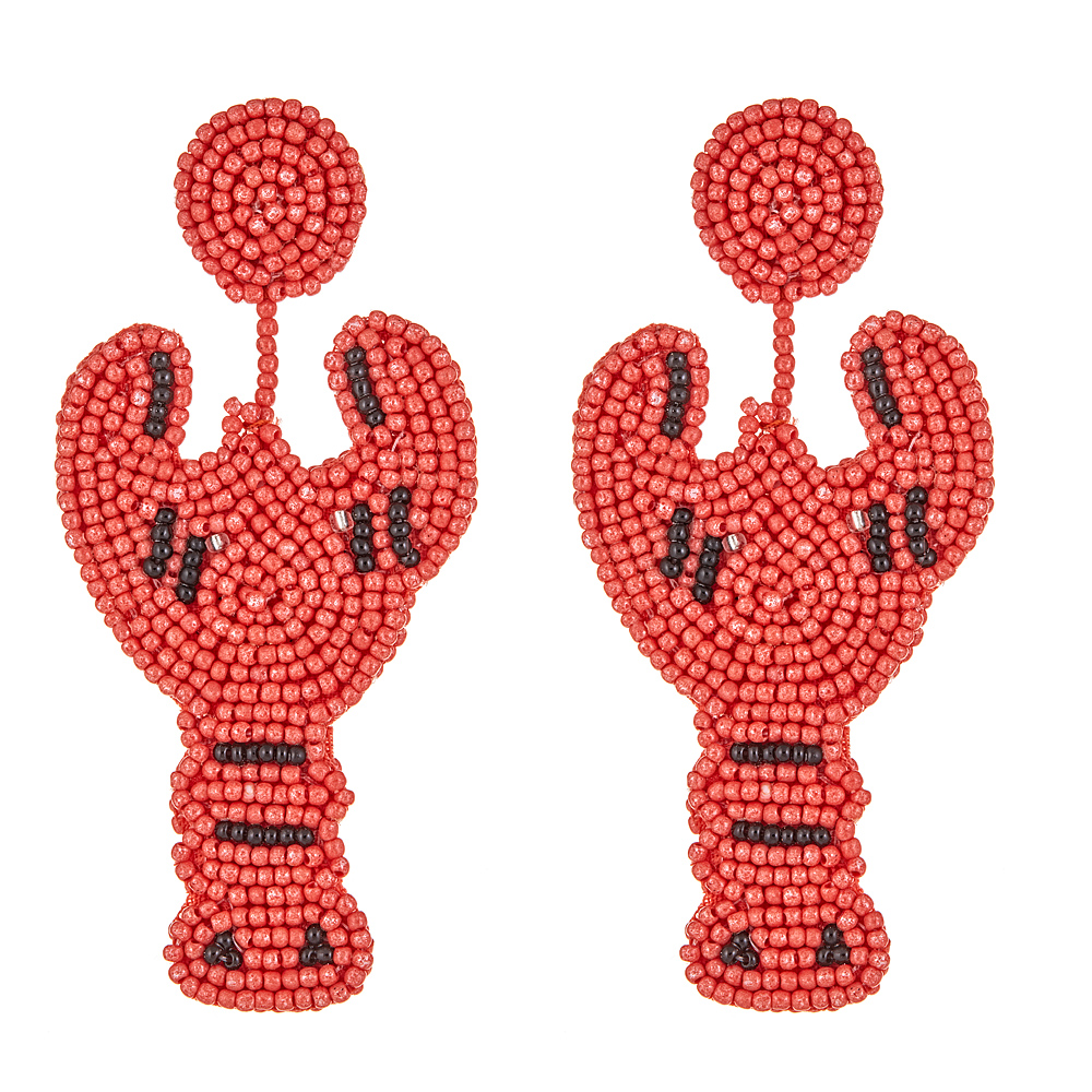Lobster Earrings by KENNETH JAY LANE