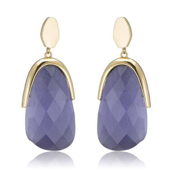 Lavender Julianne Earrings by Marcia Moran
