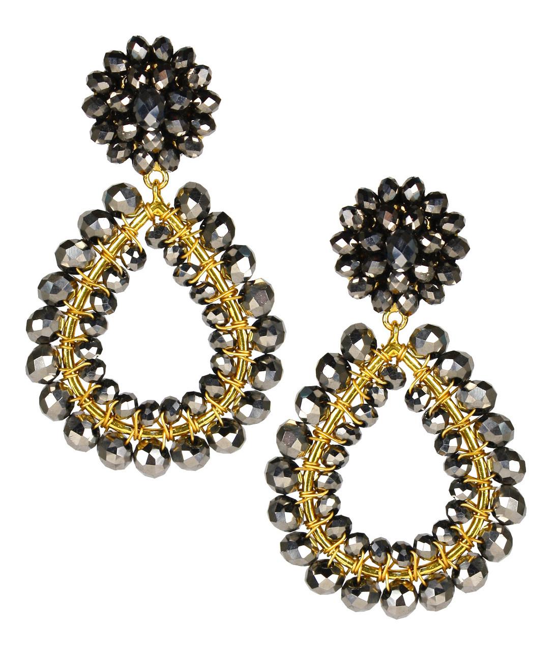 Margo Disco Earrings by LISI LERCH
