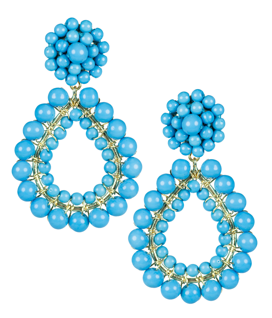 Margo Turquoise Earrings by LISI LERCH