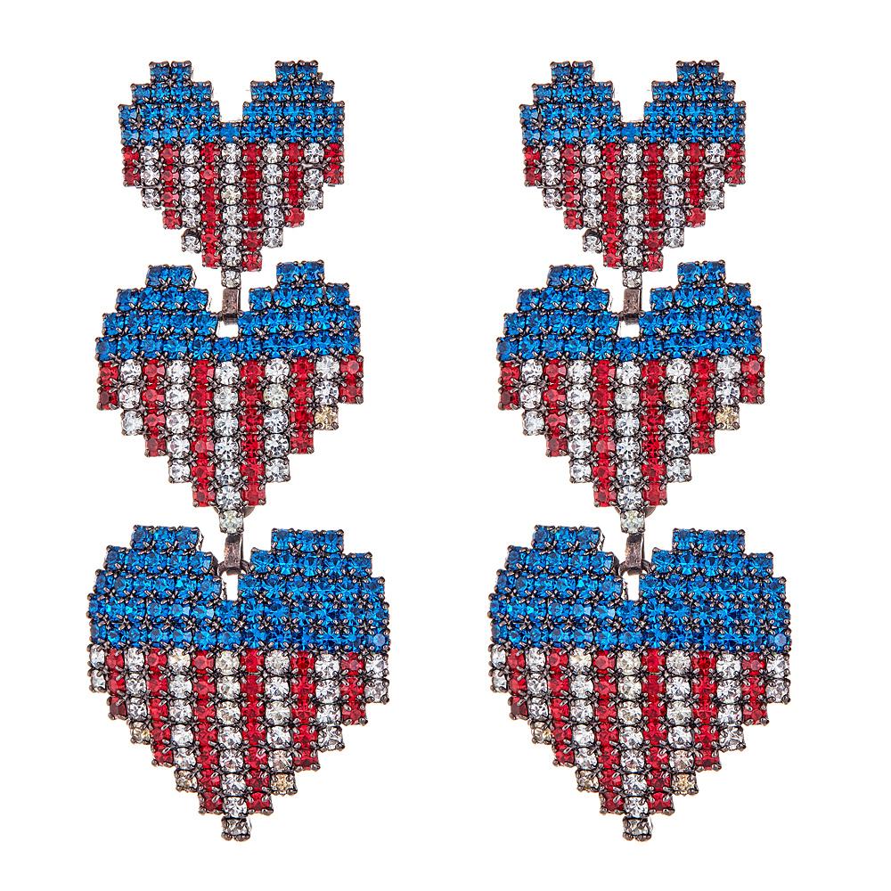 Martha USA Earrings by ELIZABETH COLE