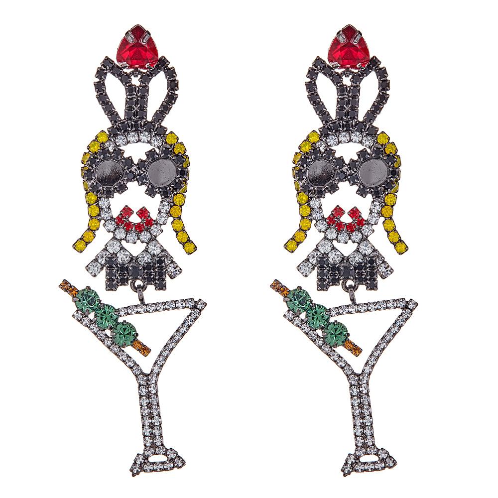 Martini Earrings by ELIZABETH COLE