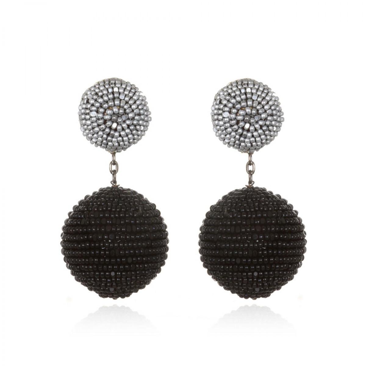 Mini Beaded Gumball Earrings  by SUZANNA DAI