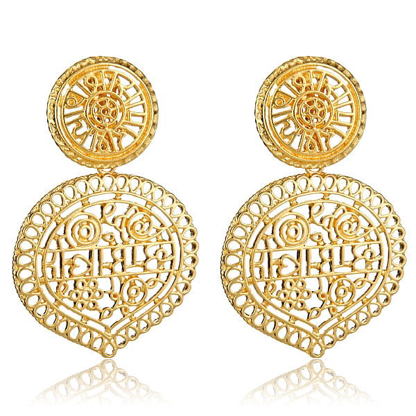 Moroccan Earrings by KENNETH JAY LANE
