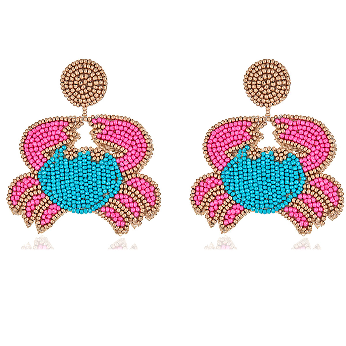 Crab Earrings by KENNETH JAY LANE