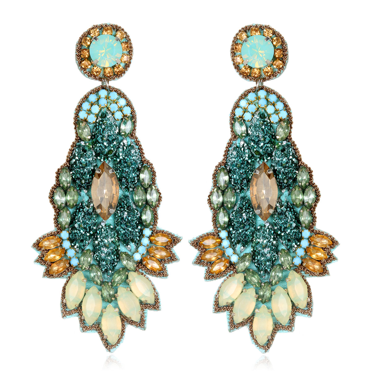 Orsay Drop Earrings by SUZANNA DAI