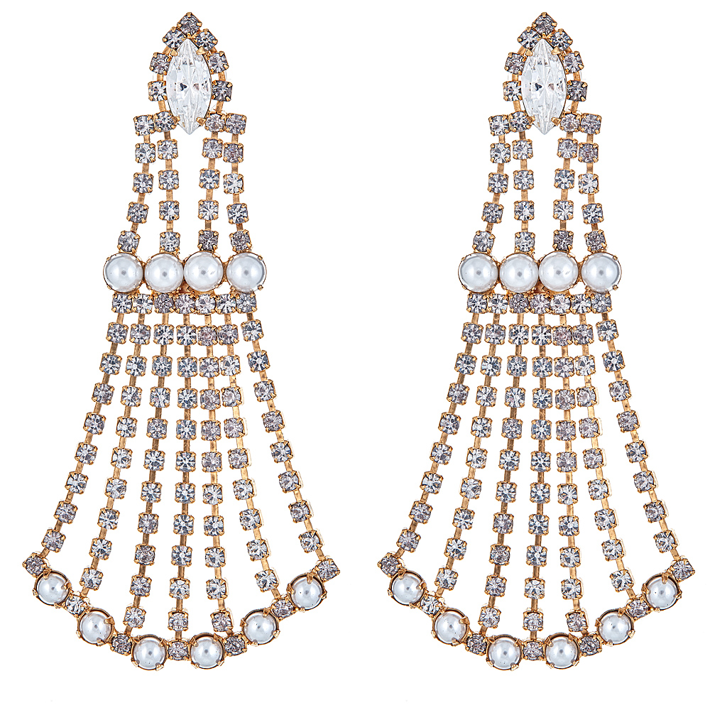 Peggy Pearl Earrings by ELIZABETH COLE