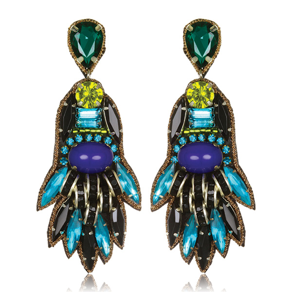 Persepolis Drop Earrings by SUZANNA DAI