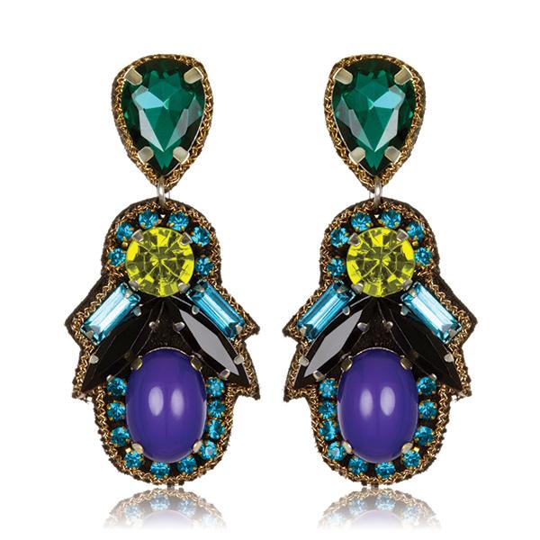 Persepolis Small Drop Earrings by SUZANNA DAI