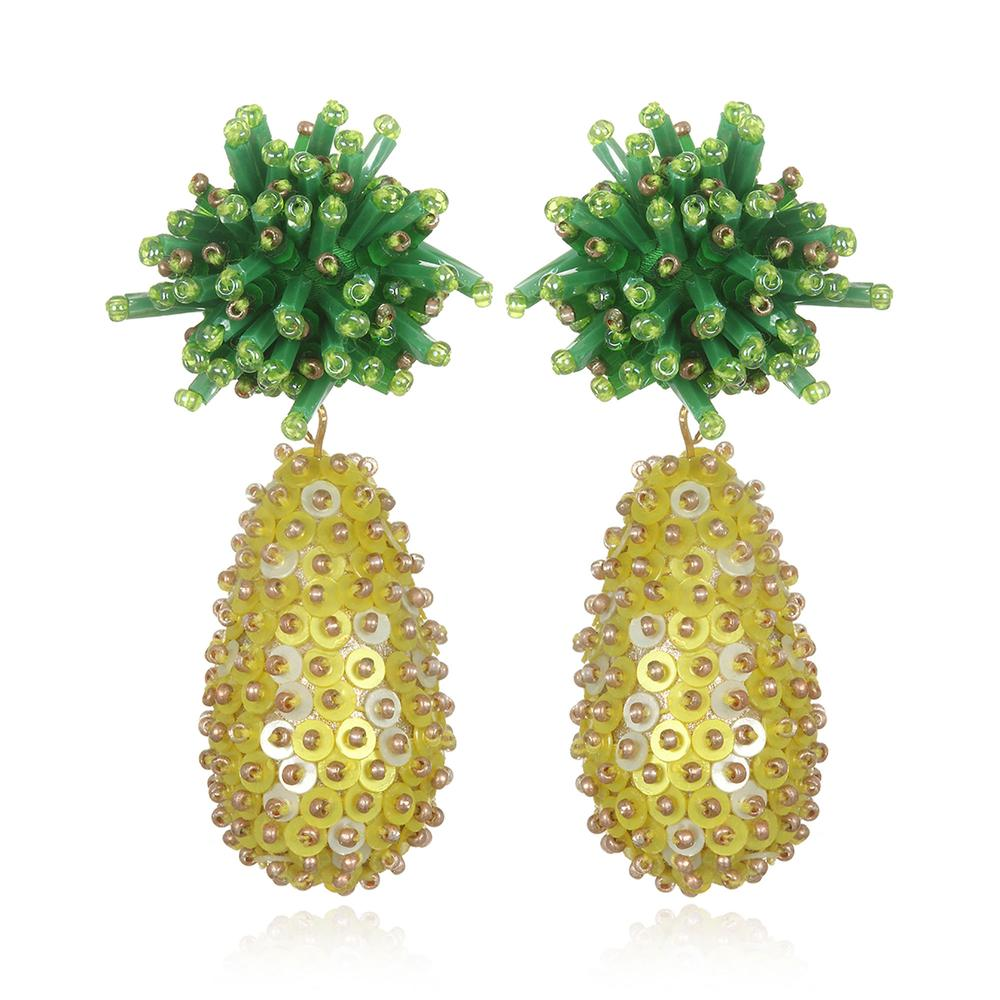 Pina Pineapple Earrings by SUZANNA DAI