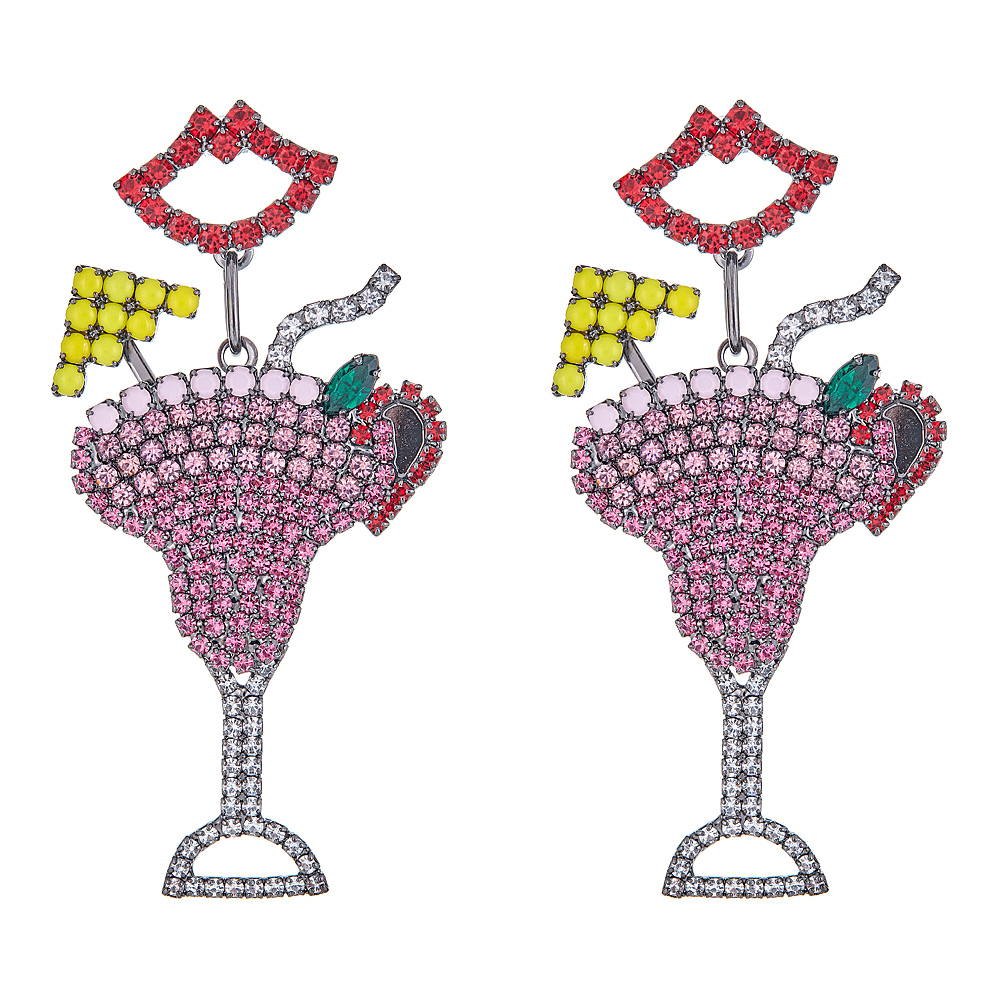 Pink Daiquiri Earrings by ELIZABETH COLE