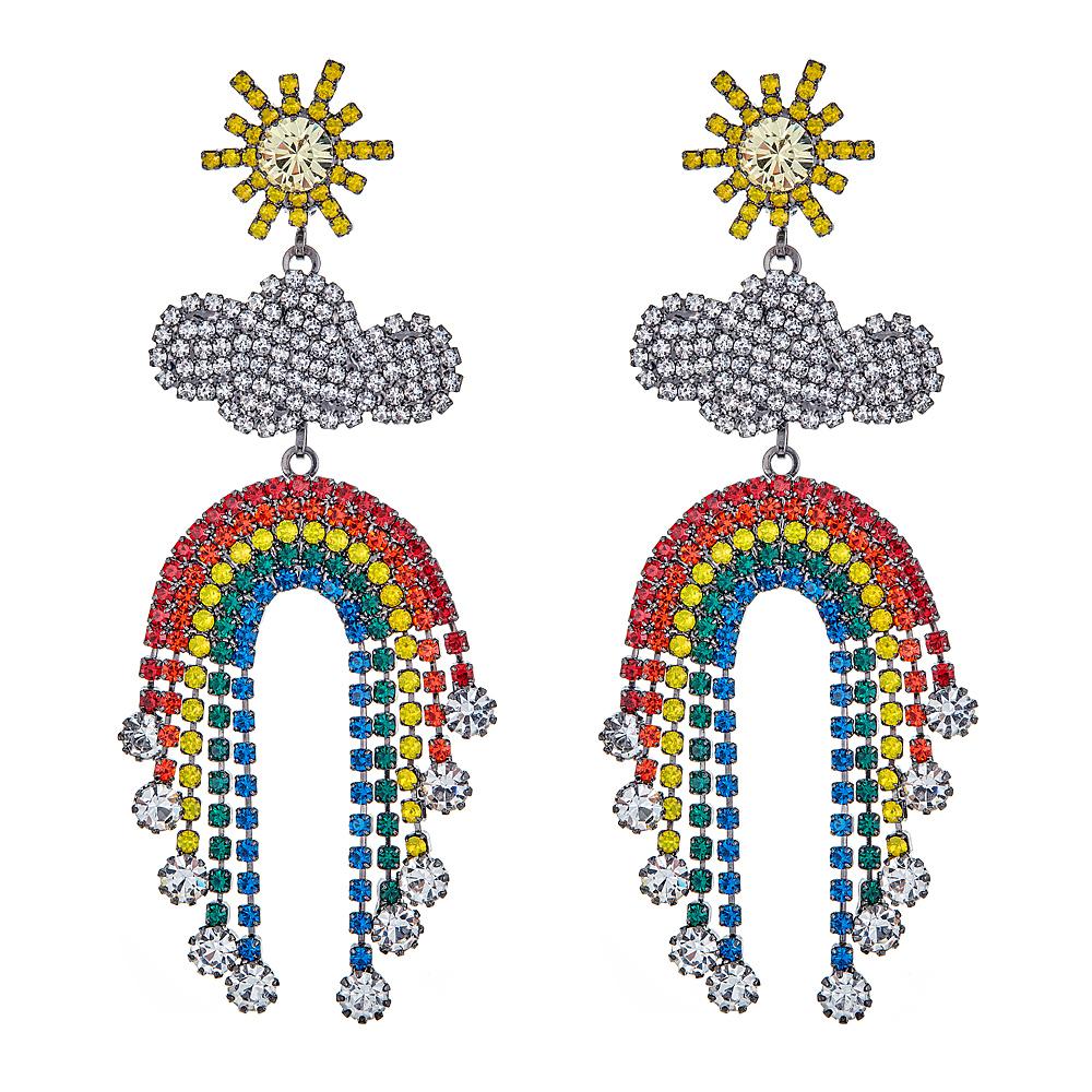 Rainbow Earrings by ELIZABETH COLE