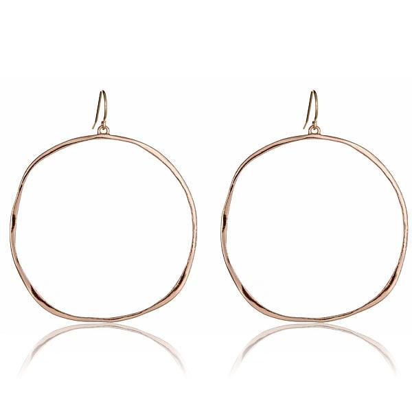 Rose G-Hoop Earrings by GORJANA