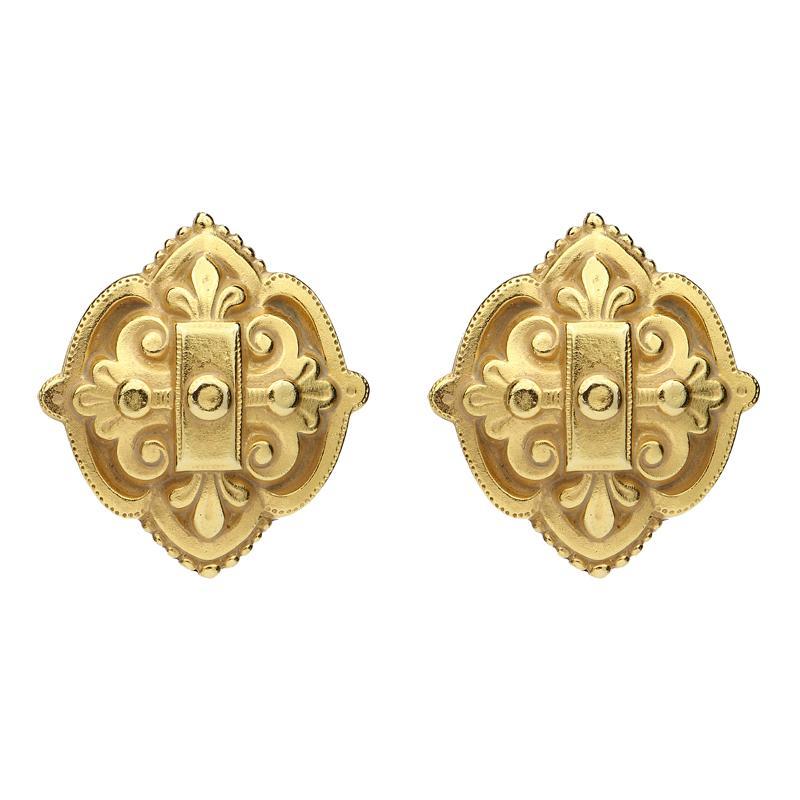 Royal Charm Lattice Earrings by BEN-AMUN