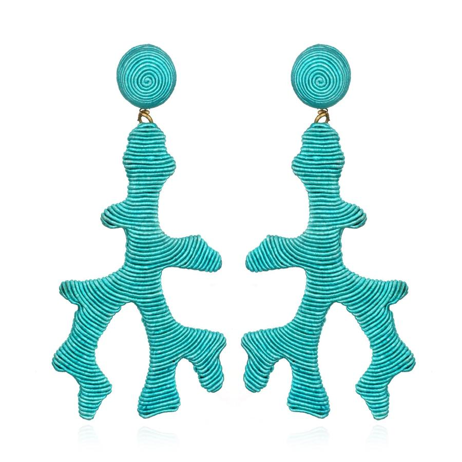 Seychelles Turquoise Earrings by SUZANNA DAI