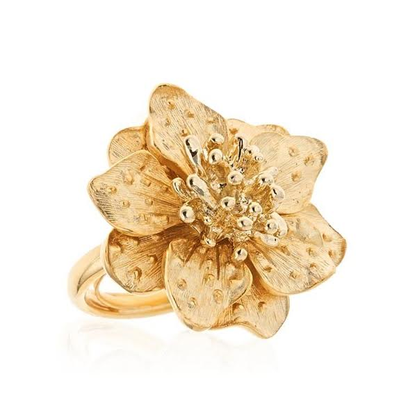 Flower Ring by KENNETH JAY LANE