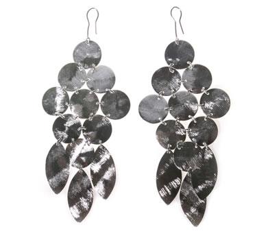Silver Boho Darling Earrings by MARCIA MORAN