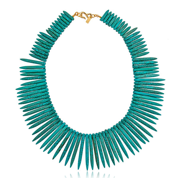 Turquoise Sticks Necklace by KENNETH JAY LANE