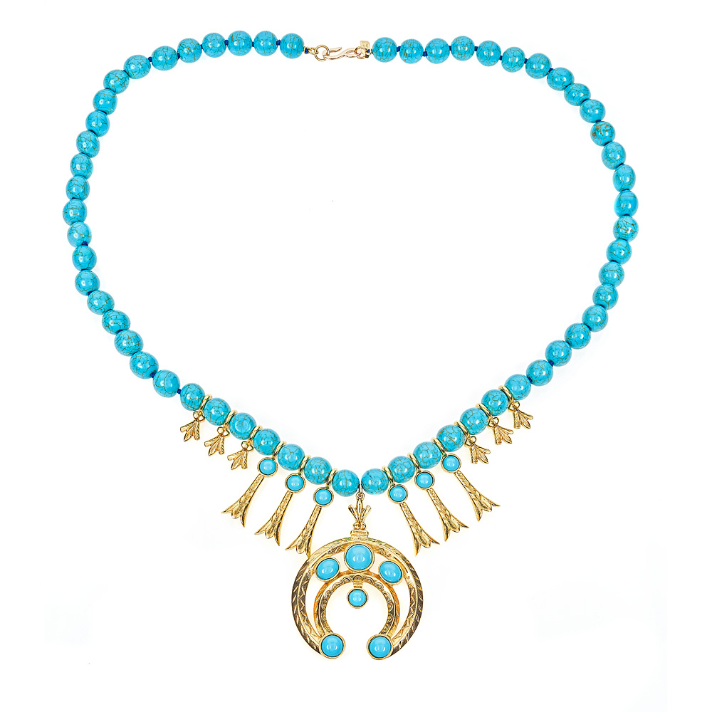 Squash Blossom Necklace  by KENNETH JAY LANE
