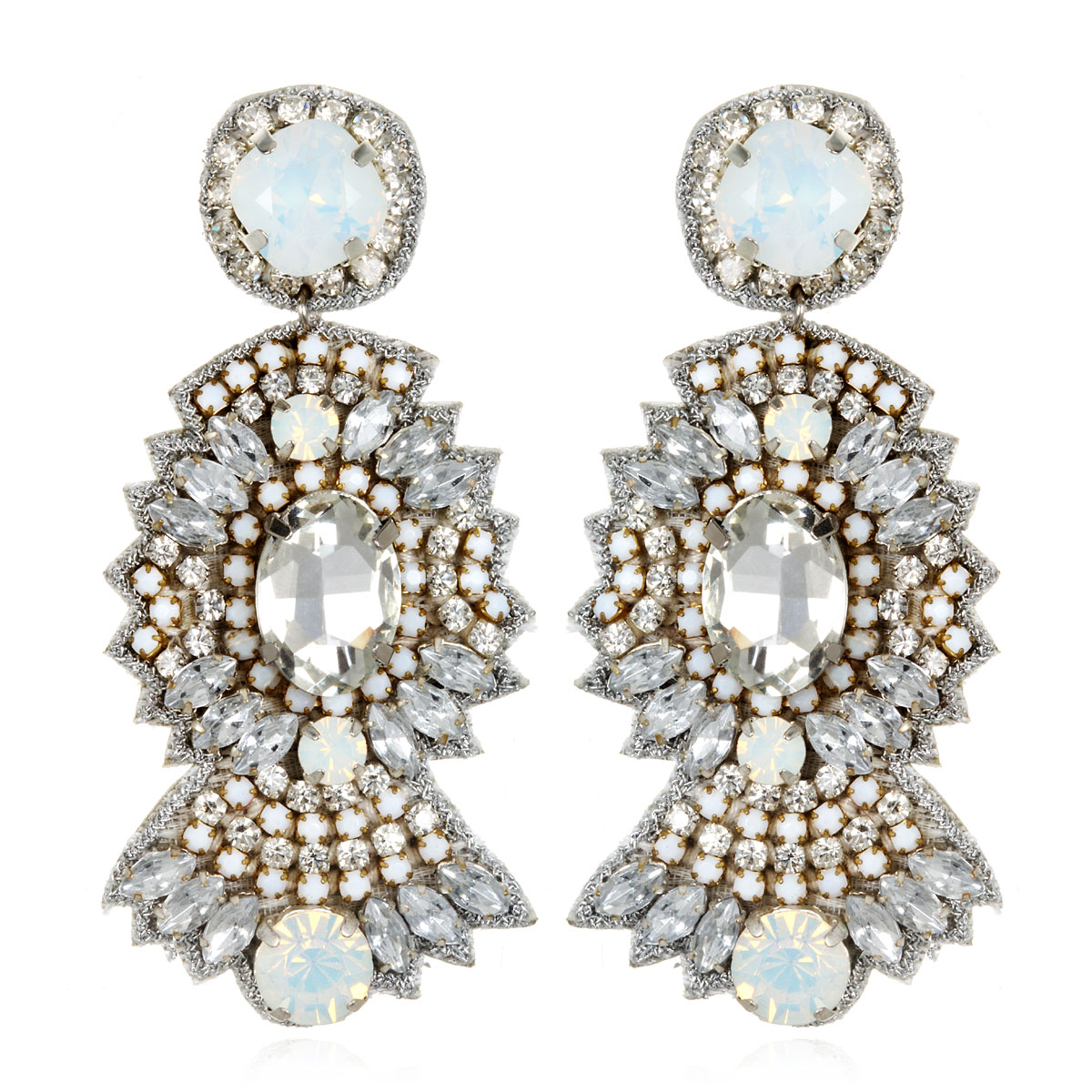 St. Germaine Opal Earrings by SUZANNA DAI