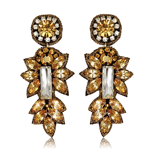 Cyprus Small Drop Earrings by SUZANNA DAI