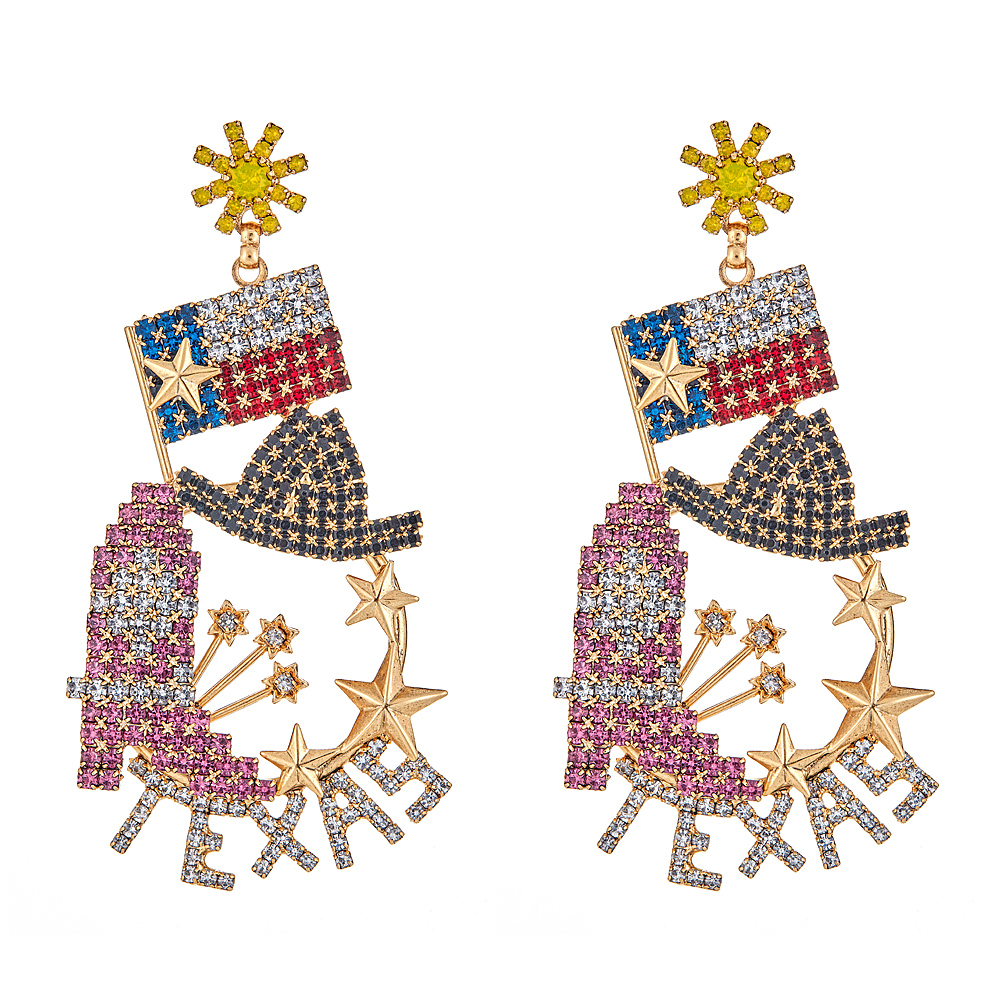 Texas Earrings by ELIZABETH COLE