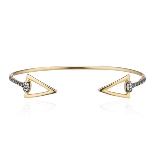 Triangle Bangle by MARCIA MORAN