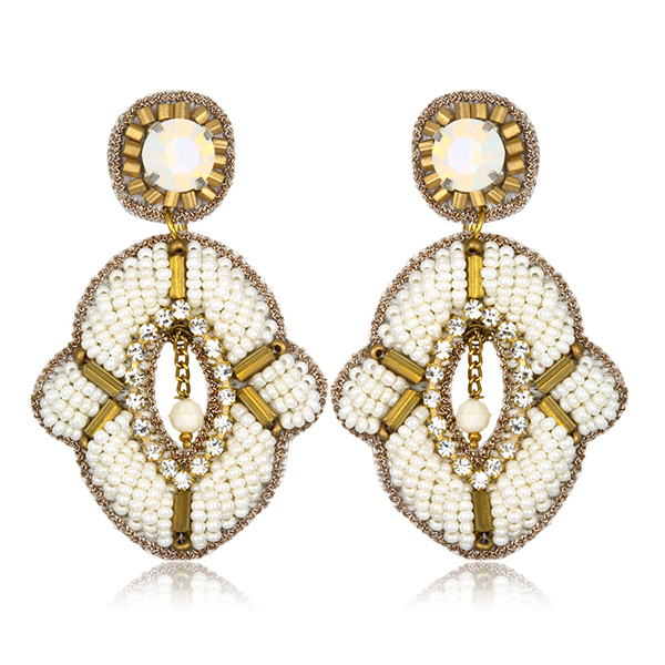 Tribal Glam Earrings by SUZANNA DAI
