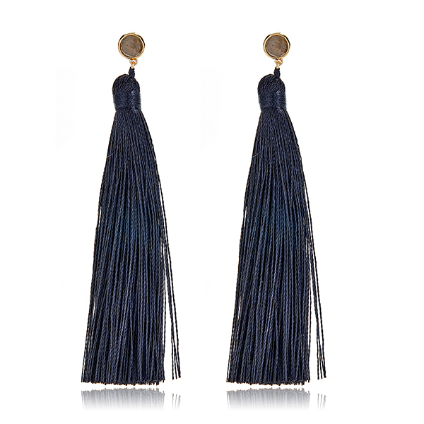 Tulum Tassel Earrings by GORJANA