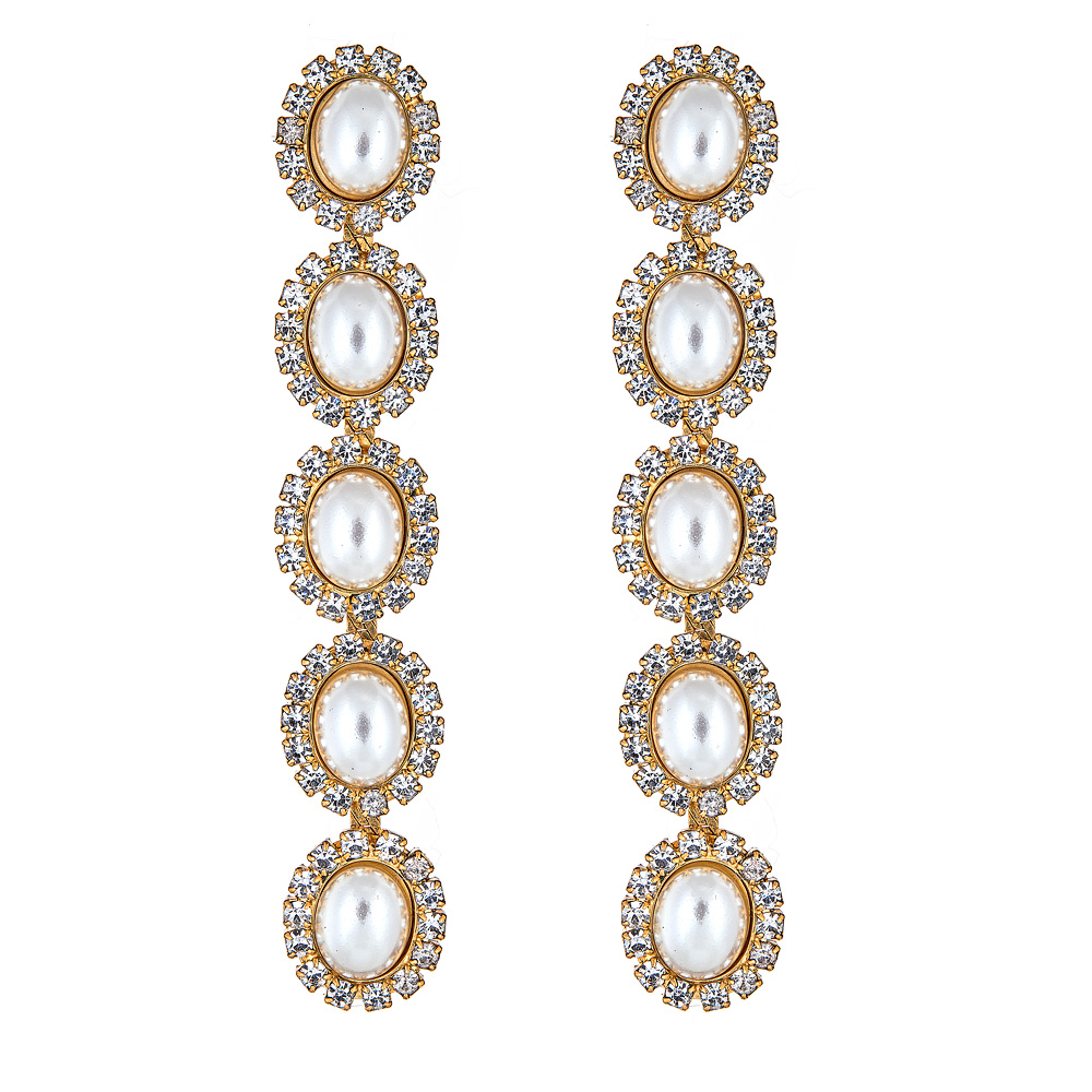 Von Pearl Drop Earrings by ELIZABETH COLE