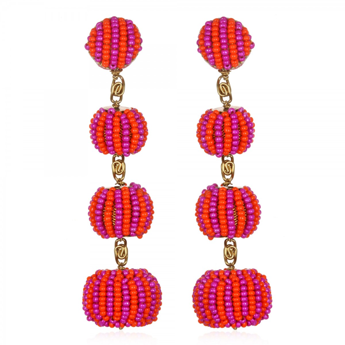 Watermelon Gumball Earrings by SUZANNA DAI