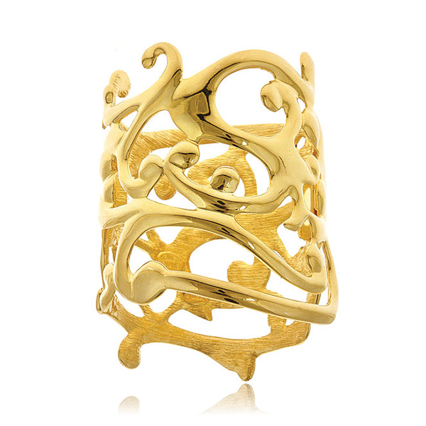 Sculpted Cuff by KENNETH JAY LANE