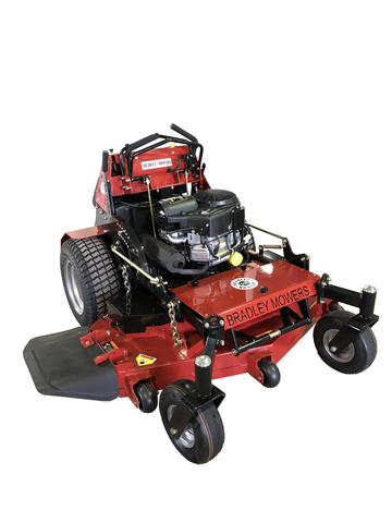 Stand Behind Lawn Mower >> Bradley 52 Stand On Compact Mower Briggs Commercial Turf Bradley