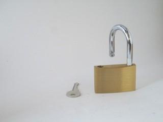 37009 Set of three pad locks keyed alike