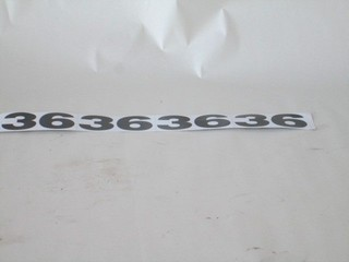 100-130B2 MOWER TYPE DECAL FOR 36""