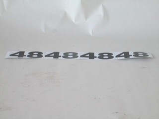 100-131B1 MOWER TYPE DECAL FOR 48""